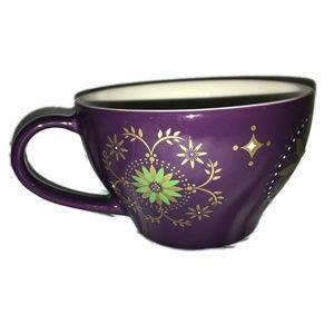 STARBUCKS 2006 Holiday Coffee Mug 12 oz Purple